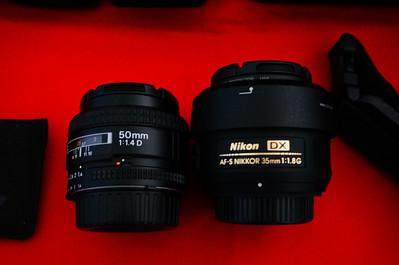 Nikon 50mm f/1.4D Nikon 35mm AF-S f/1.8G lens has 4 years left on a 5 year warranty.