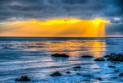 Malibu Sunset ! Nikon D800E HDR Socal Malibu Landscape / Seascape Photography 14-24mm f/2.8 G ED AF-S Nikkor Wide Angle Zoom Lens