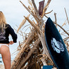 Nikon D800E Photos of Pretty Blond Swimsuit Bikini Model Goddess & Black Surfboard: 70-200 mm VR2 Nikkor F/2.8 Zoom