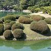 The Rutsurin Gardens at Takamatsu, Japan in March 2015
