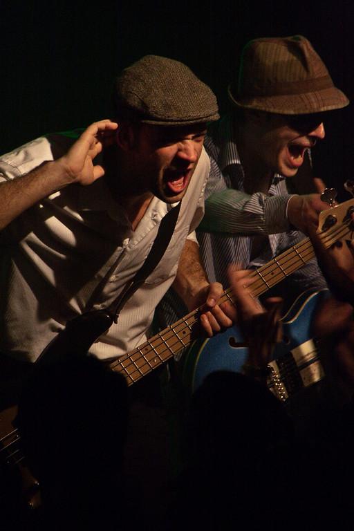 No Frogs For Dinner en concert à la Maroquinerie