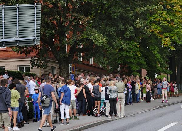 2014-09-07. En av flera guidade turer. Borås. [SWE]