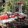 The main wreckage.  Plane ID # N44517.
