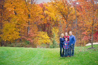 Fam in Woods (1 of 1)