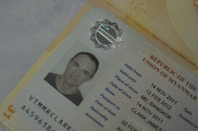 Myanmar Visa