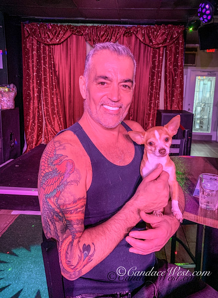 The Pet Easter Bonnet Contest at The Pub in Wilton Manors.  Proceeds benefit the Pet Project. <br /> April 20, 2019<br /> Photo by CandaceWest.com,