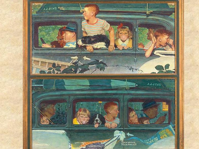 Norman Rockwell's Collection