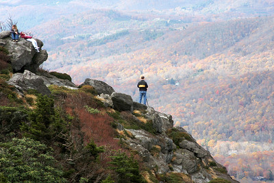 Anything for a picture, Grandfather Mountain, NC