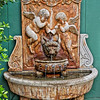 Fountain at Preston Woodall House