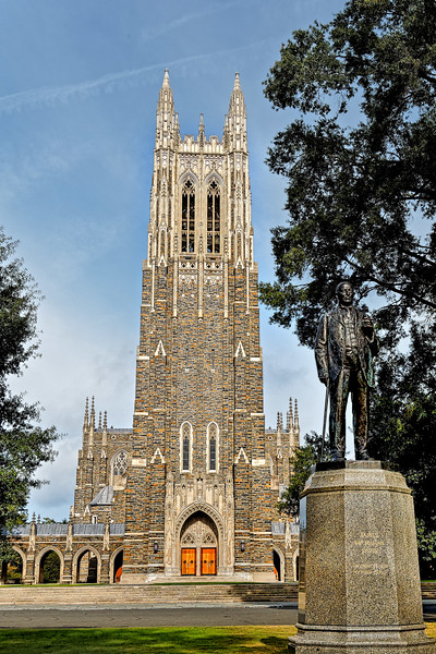 Statue of James B. Duke