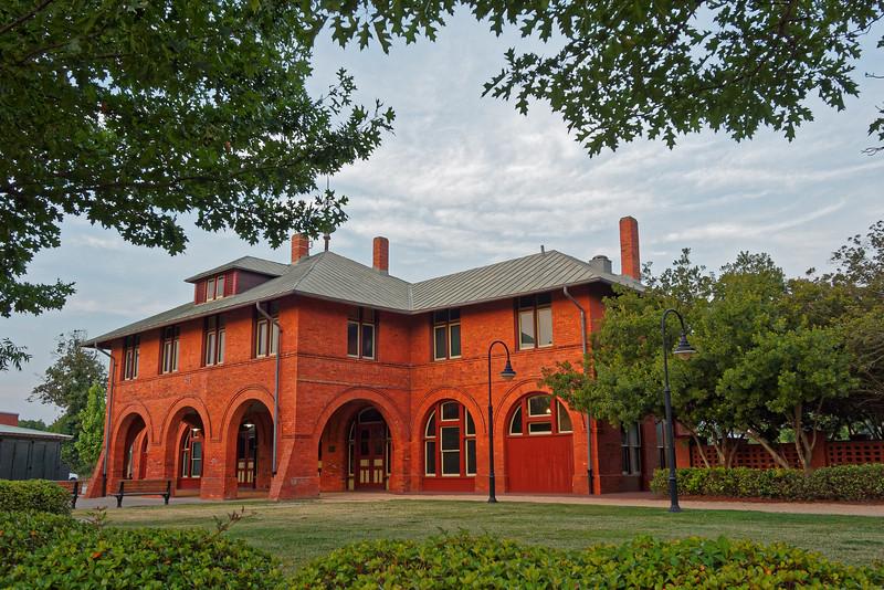 Fayetteville's Cape Fear and Yadkin Valley Depot