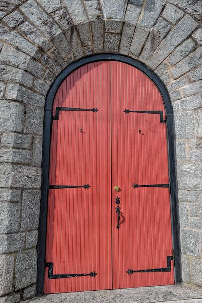 Door of St. Philip's Church