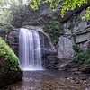 Looking Glass Falls in Transylvania County