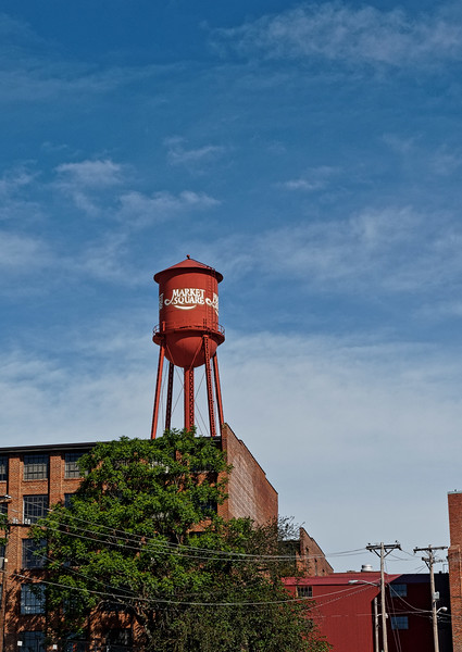 High Point, North Carolina, Market Square Water Tower
