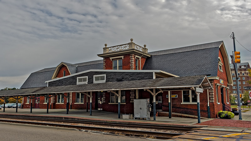 Fayetteville Atlantic Coast Line Railroad Station