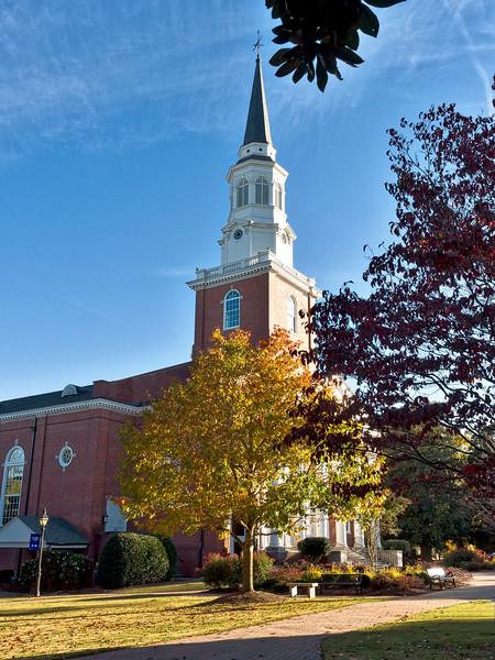 Binkley Chapel Southeastern Baptist Theological Seminary