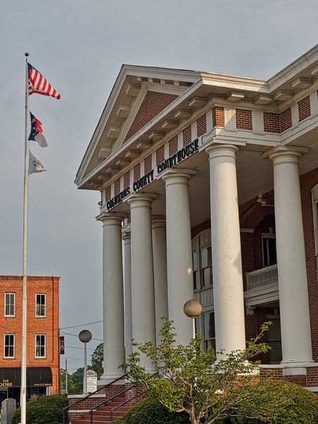 Whiteville's Columbus County Courthouse