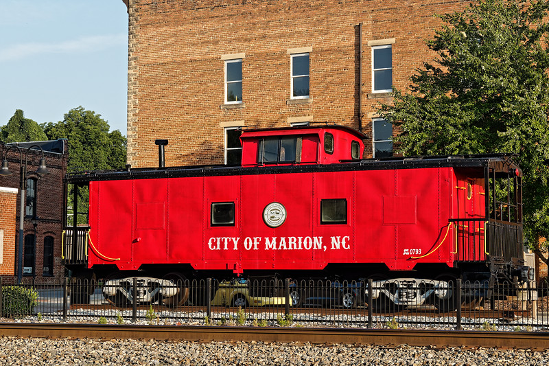 Marion, North Carolina Caboose