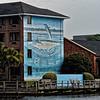 Robert Wyland's 'Coastal Dolphins' Mural