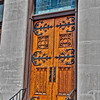 St. John's Episcopal Church's Door