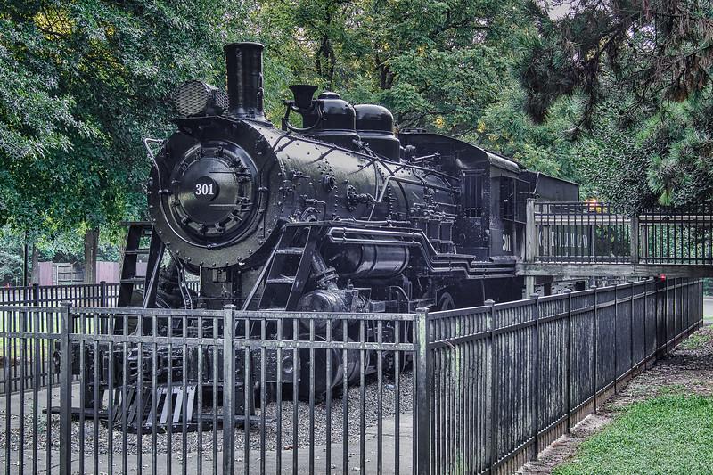 Gainesville Midland RR No. 301 2-8-0