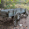 Old Wagon at Historic Yates Mill