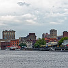 Wilmington Skyline from Tour Boat Wilmington