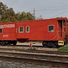 Southern Railway Caboose at Garner Station