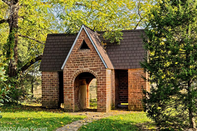 Korner's Folly, Kernersville, NC, Outhouse
