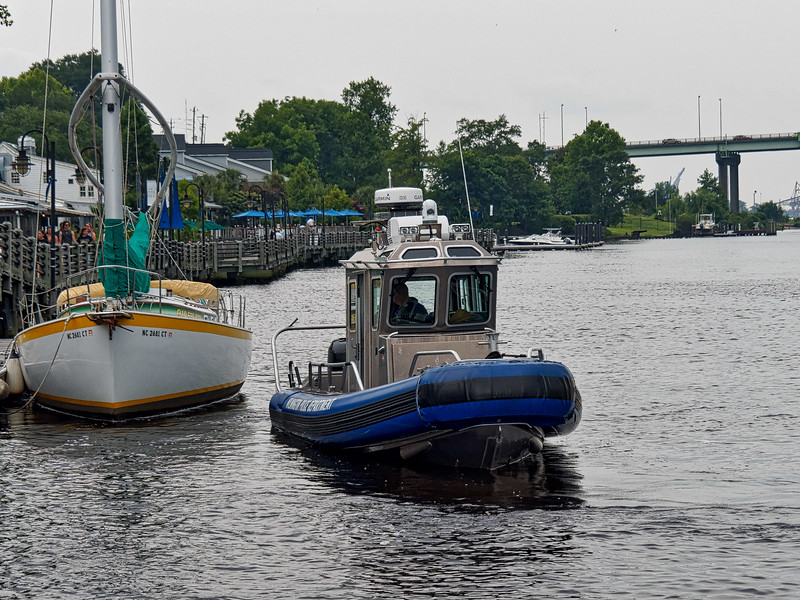 Wilmington Police Boat