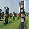 North Carolina Veterans Park's Community Columns
