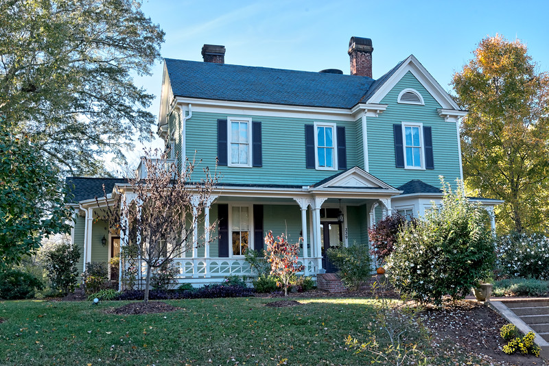 Victorian home in Wake Forest