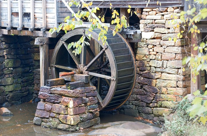 Historic Yates Mill Water Wheel