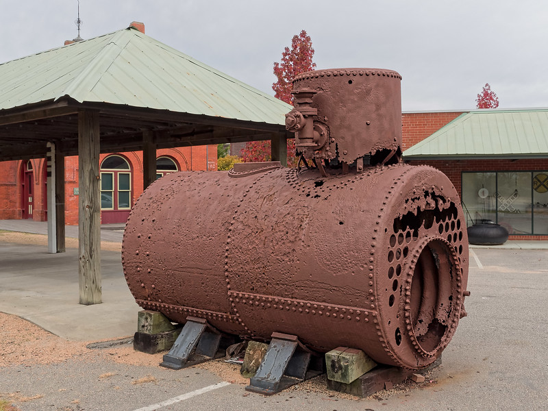 Steam Locomotive Boiler ?