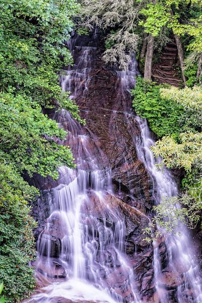 Connestee Falls, near Brevard, North Carolina