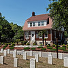 Superintendent's lodge at Wilmington National Cemetery