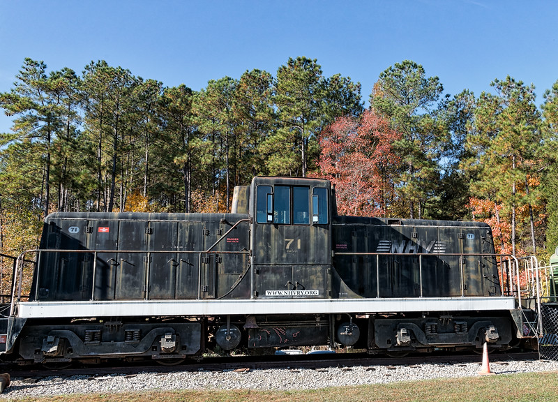 New Hope Valley Railroad Diesel Locomotive