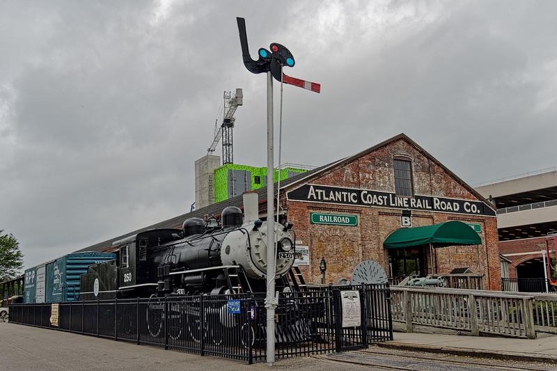 Atlantic Coast Line Locomotive