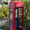 Old London Telephone Box