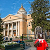 Painted Bear at Historic Henderson County Courthouse