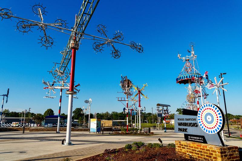 Whirligig Park, Wilson, North Carolina