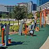 First Ward Park's Exercise Equipment