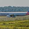 American Airline Plane on Runway