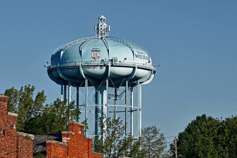 Wilson North Carolina Water Tower