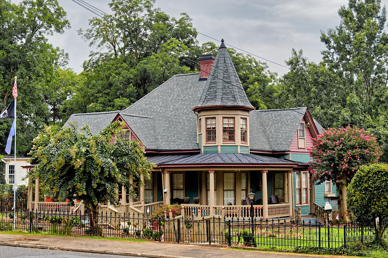 Kings Mountain Queen Anne Victorian Home