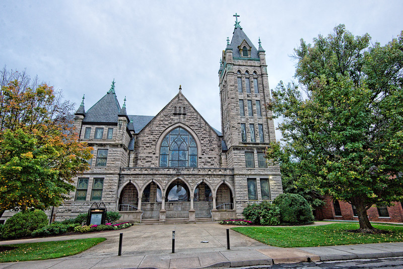 Central United Methodist Church, Asheville