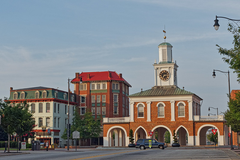 Fayetteville Second Empire House and Market House