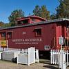 Aberdeen & Rockfish Railroad Caboose