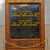 Greensboro 1927 Southern Railway Train Announcements