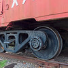 Wheels of Southern Railway Caboose
